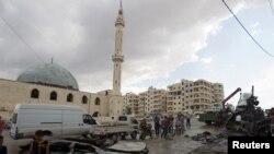 Prizor iz Idliba, 27. maj 2016.