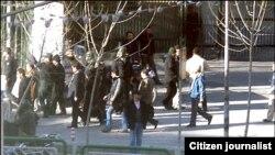 تظاهرات در تهران دوشنبه ۲۵ بهمن