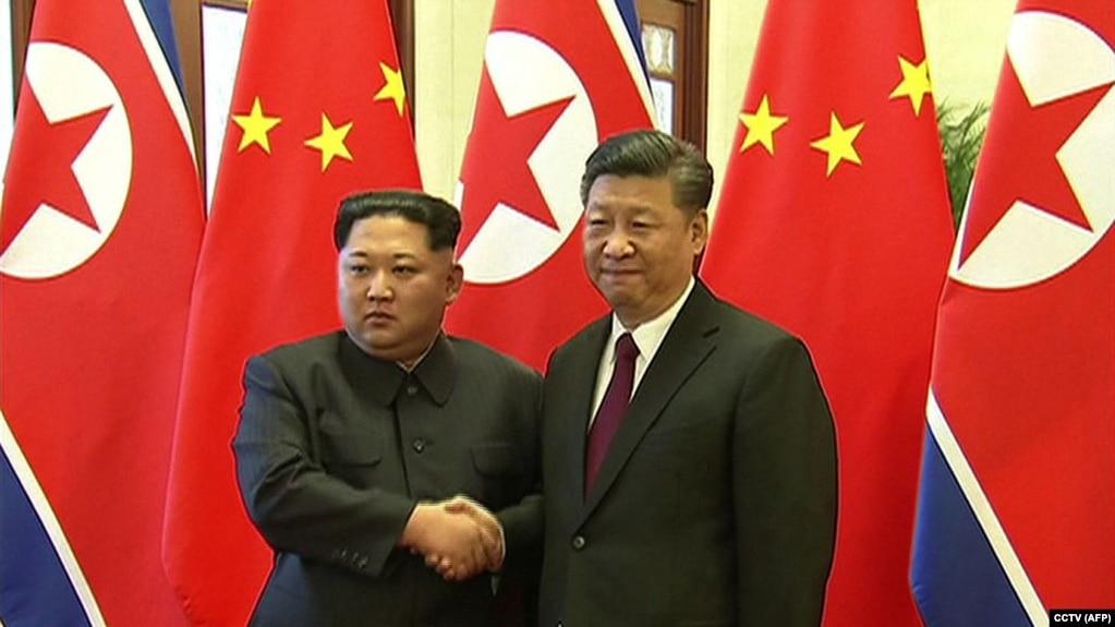 سفر دو روزه رهبر کره شمالی به چین