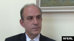 Armenia -- Aristomene Varoudakis, head of World Bank's Yerevan office, 27Nov2009