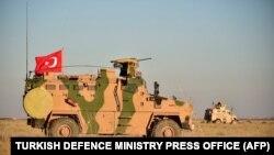 Турецькі військові на території Сирії