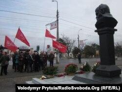 Комуністи прийшли вшанувати Шевченка