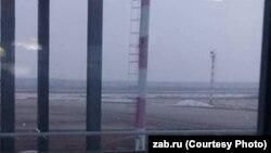 Задымление в районе Аэропорт в Чите