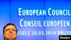 Joze Manuel Barrozo Avropa İttifaqının toplantısında