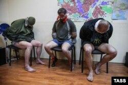 Заложники в здании СБУ Славянска