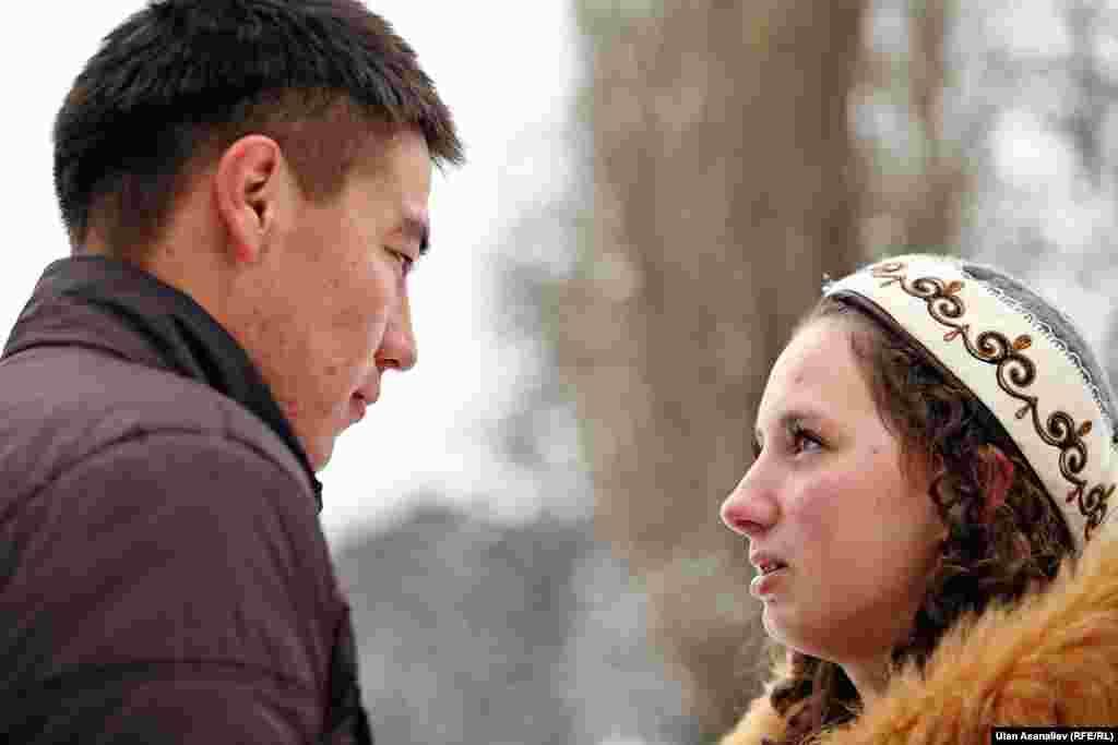 Кыргызстанец Улукбек в Москве нашел свою любовь.