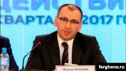 Жавлон Вахабов, первый заместитель министра иностранных дел Узбекистана.
