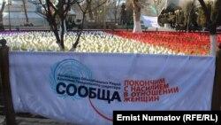 Кыргызстанда аялдарга карата зомбулукка каршы өткөрүлгөн акция, 2013-жыл