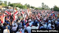 Антиправительственные протесты в Каире. 21 июня 2013 года.