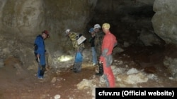 Печера, виявлена при будівництві траси «Таврида» в Криму
