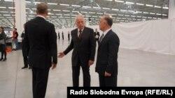 Отворање на фабриката Кромберг и Шуберт во економската зона Жабени во Битола.