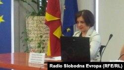 Уранија Пировска, директорка на Хелсиншкиот комитет на Македонија.