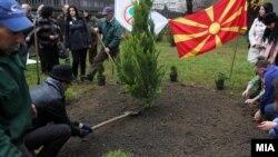 """Од претходните акции """"Ден на дрвото, засадија ја својата иднина"""""""
