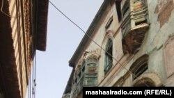 د پېښور تاریخي بازار کې د هندي وتلي فلمي ستوري راجکپور کور