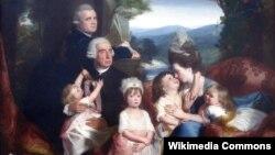 Семья американского и английского художника Джона Синглтона Копли (1738–1815): все поколения живут вместе