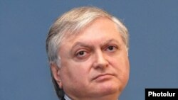 "Armenian Foreign Minister Edward Nalbandian said today that such statements ""lead to absolutely negative consequences."""