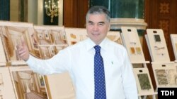 Президент Турмкенистана Гурбангулы Бердымухамедов.