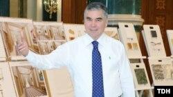 Prezident Gurbanguly Berdimuhamedow täze gurluşyk taslamalary bilen tanyşdy. TDH-nyň suraty
