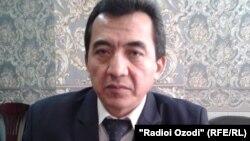 Тәжікстанның орталық сайлау комиссиясының төрағасы Абдуманнон Додоев.