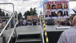 La Chișinău are loc un nou protest împotriva anulării alegerilor pentru Primărie