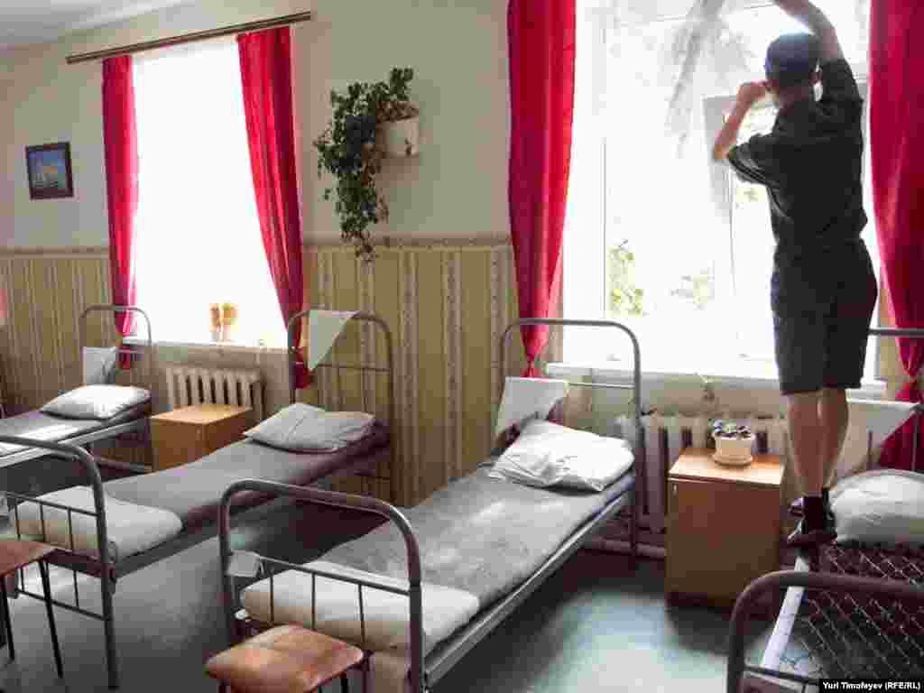 Интерьеры общежития воспитанников Можайской колонии