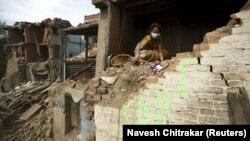 Nepal - shkatërrimet e shkaktuara nga termeti i 25 prillit