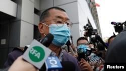 Медиамагнат Джимми Лай, один из организаторов протестного движения в Гонконге против влияния Пекина.