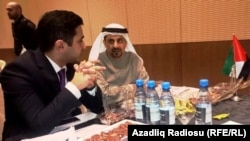 На форуме Азербайджан-ОАЭ. 20 октября 2016 год