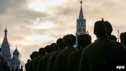 Реконструкція параду 1941 року в Москві, 7 листопада 2015 року
