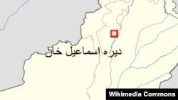 د ډېره اسماعیل خان نقشه