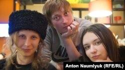 Марія Альохіна, Олександр Софєєв та Ольга Борисова (зліва направо)