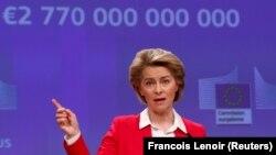 Predsednica Evropske komisijeUrsula fon der Lajen