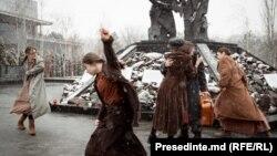 """La Memorialul """"Victimelor fascismului"""", 27 ianuarie, 2021"""