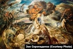 Більшість творів, представлених на онлайн-виставці – з колекції Національного музею Чорнобиля