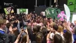 În Irlanda a fost celebrat votul covîrșitor pentru legalizarea totală a avorturilor