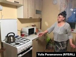 Раиса Шалаева в квартире, отремонтированной волонтерами