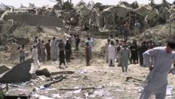 Truck Bomb Strikes Kabul Compound; Militants, One Officer Killed