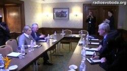 Юлія Тимошенко зустрілася з Більдтом віч-на-віч
