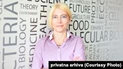 Jelena Begović, direktorka Instituta za molekularnu genetiku i genetičko inženjerstvo Univerziteta u Beogradu