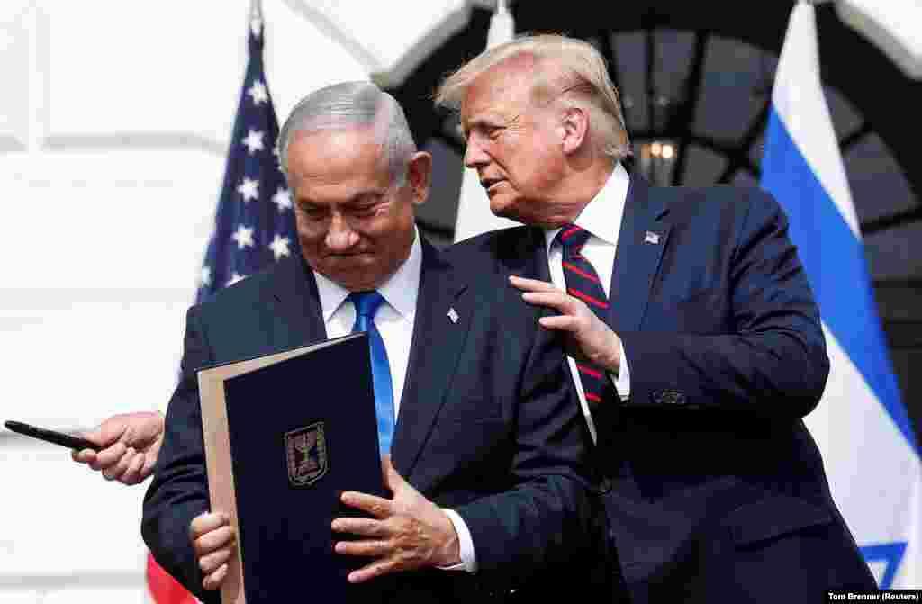 ATrump-kormánnyal tető alá hozták az Izrael, az Egyesült Arab Emírségek és Bahrein közötti Ábrahám Megállapodást.