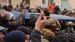 Момент затримання Міхеїла Саакашвілі