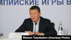 Председатель Национального олимпийского комитета Тимур Кулибаев.