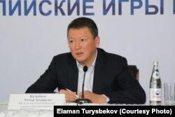 Бұрынғы президенттің күйеубаласы миллиардер Тимур Құлыбаев.