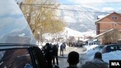Gostivar, foto nga vendi i ngjarjes