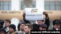 La începutul campaniei electorale la Chișinău...