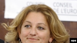 Parliamentary delegation head Marie Anne Isler Beguin