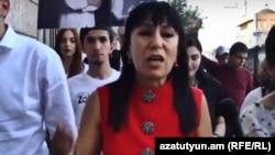 Наира Зограбян, ереванский административный округ Эребуни, 20 сентября 2018 г․