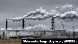 Завод «Кримський титан», окупований Росією Крим
