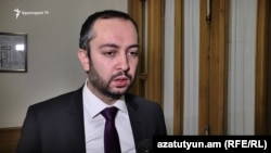 Hуководитель аппарата премьер-министра Армении Эдуард Агаджанян (архив)