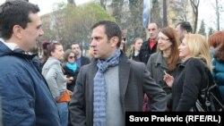 Esad Krcić (L) i Dimitrije Jovićević, dopisnici RSE iz Crne Gore